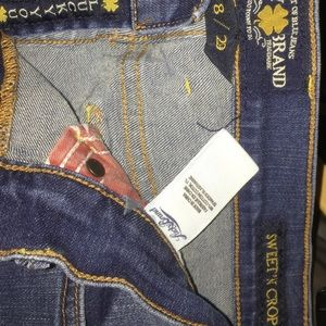 Lucky Brand cropped jeans, sz8